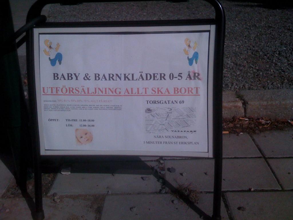 Bebis till salu-