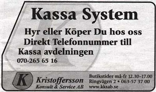 kassasystem